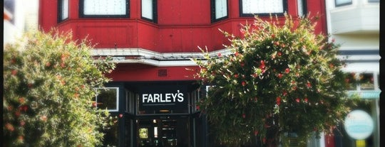 Farley's is one of San Fran Coffee Shops.