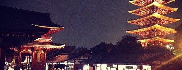 浅草寺 is one of 日本夜景遺産.
