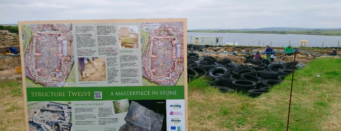 The Ness of Brodgar Excavation Site is one of Stromness.