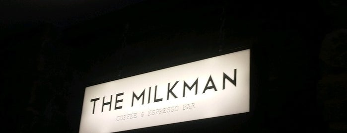The Milkman is one of Edinburgh.
