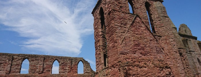 Arbroath Abbey is one of Scotland.