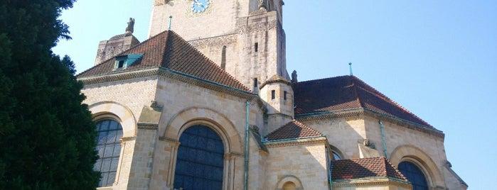 Pauluskirche is one of Basel.