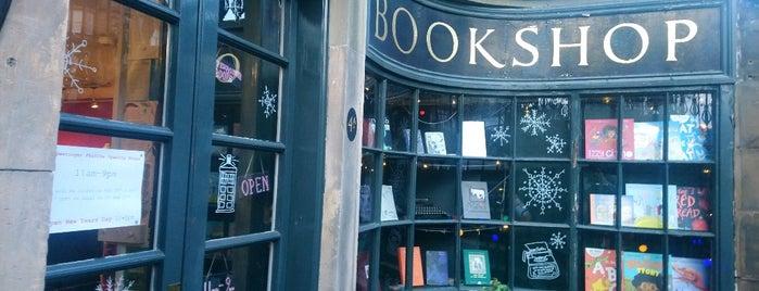 McNaughtan's Bookshop is one of Edinburgh.