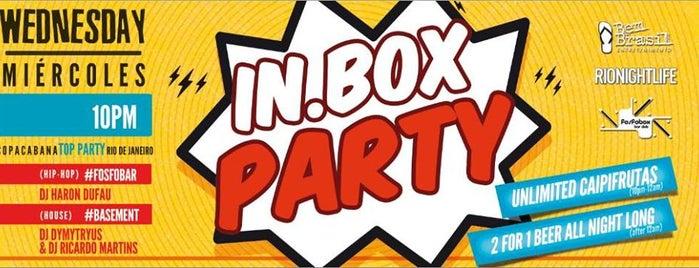 In.Box is one of Lieux qui ont plu à Cristina.