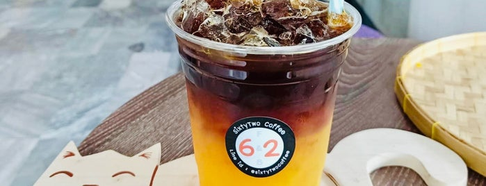 SixtyTwo Coffee is one of 07_ตามรอย_coffee.