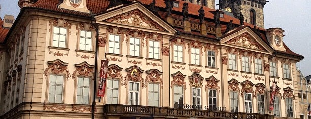 Palác Kinských is one of Pražská muzejní noc 2016 | Prague Museum Night.