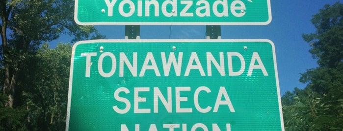 Tonawanda Seneca Indian Reservation is one of Native American Cultures, Lands, & History.