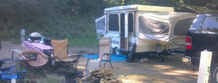 Weko Beach Camp Ground is one of Michigan Camping.