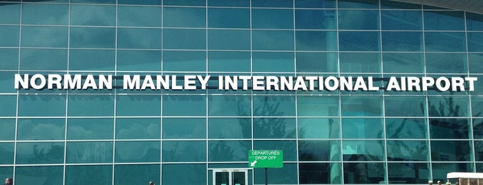 Norman Manley International Airport (KIN) is one of Aeroporto.