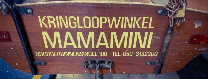 Mamamini Kringloop is one of Groningen.