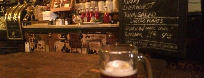 McSorley's Old Ale House is one of Concierge Top 10 Places to Drink.