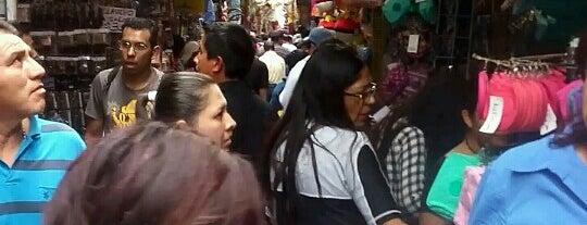 Mercado del Cármen is one of mexico.