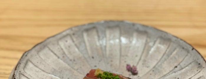 sushi AMANE is one of NYC.