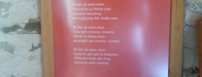 Kerimoğlu Türküsü Evi is one of themaraton.