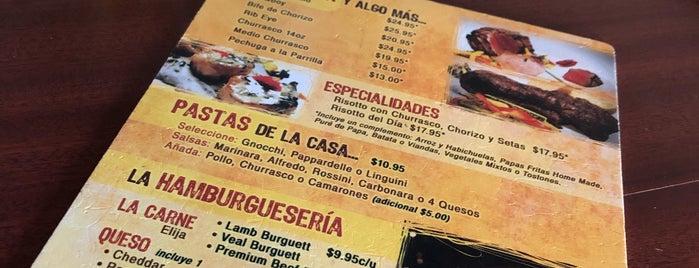 La Burguett Hamburguesería Gourmet Grill is one of Tempat yang Disukai Cristina.