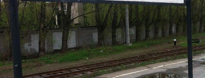Ж/д станция «Новая деревня» is one of Н 님이 좋아한 장소.