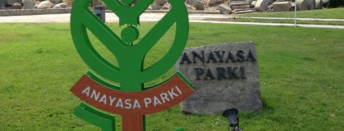 Anayasa Parkı is one of Locais curtidos por Ladybug.