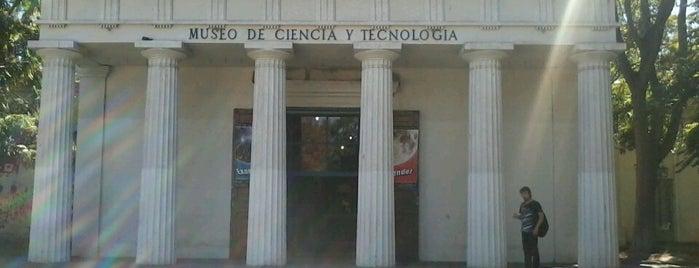 Museo de Ciencia y Tecnología is one of Museos de Santiago.