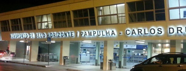 Aeroporto de Belo Horizonte / Pampulha - Carlos Drummond de Andrade (PLU) is one of Aeroportos.