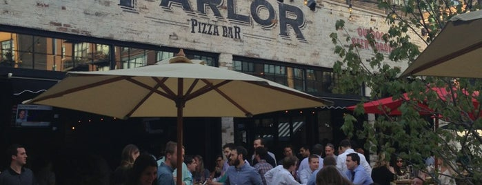 Parlor Pizza Bar is one of CHI - Rooftops / Outdoors.