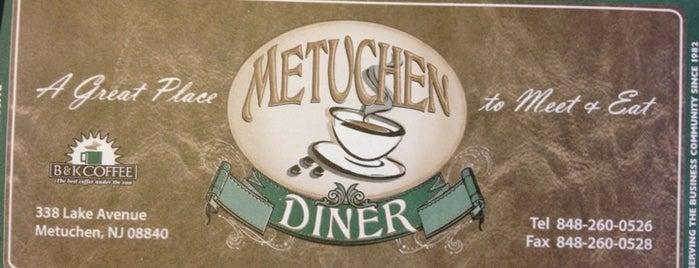 Metuchen Diner is one of Andrew 님이 좋아한 장소.