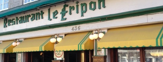 Restaurant Le Fripon is one of Orte, die PNR gefallen.