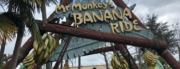 Mr Monkey's Banana Ride is one of LON.