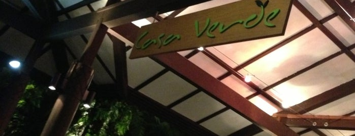 Casa Verde is one of Desserts/Pastries/Cafes.