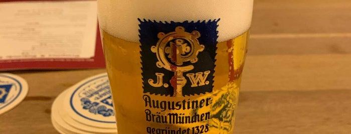 Augustiner Biergarten is one of Munich.