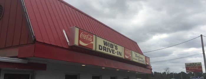 Wib's Drive In is one of Southeast Missouri BBQ Trail.