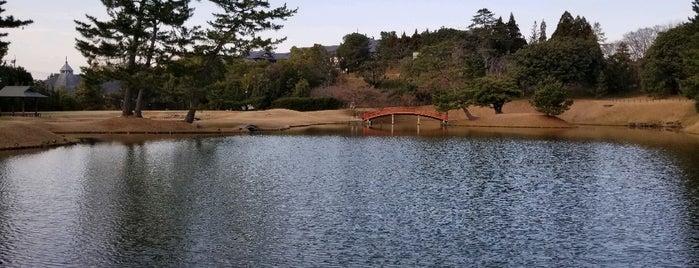 名勝旧大乗院庭園 is one of Lieux qui ont plu à 商品レビュー専門.