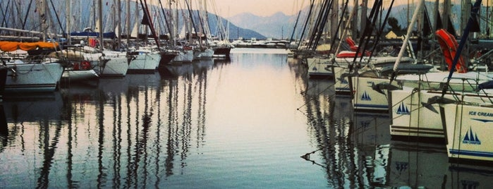 Netsel Marmaris Marina is one of Favorite Great Outdoors.