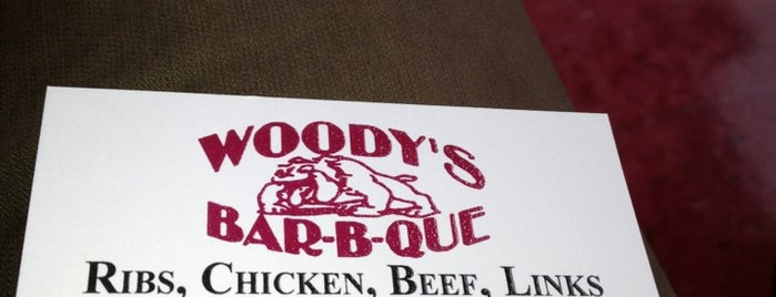 Woody's Bar-B-Que is one of Zachary 님이 좋아한 장소.