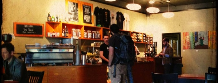 Caffe Vita is one of Portland.