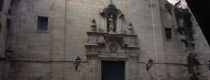 Plaça de Sant Felip Neri is one of Locais curtidos por Nihan.