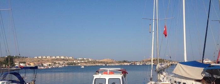 Eski Foça Marina is one of Locais curtidos por Nihan.