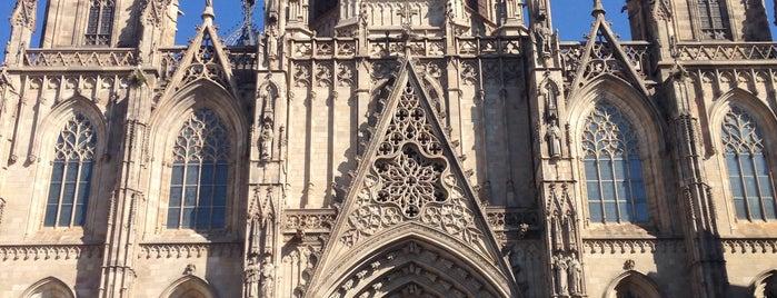 Catedral da Santa Cruz e Santa Eulália is one of Locais curtidos por Nihan.