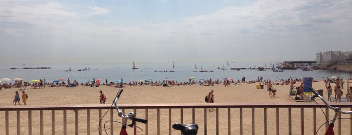 Praia de Bogatell is one of Locais curtidos por Nihan.
