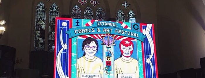 All Saints Moda İngiliz Kilisesi is one of Locais curtidos por Nihan.