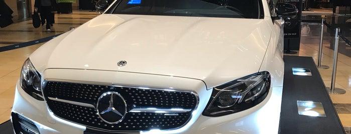 Mercedes me Tokyo HANEDA is one of สถานที่ที่ Hideo ถูกใจ.