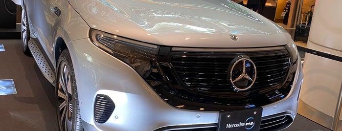 Mercedes me Tokyo HANEDA is one of Tempat yang Disukai Hideo.