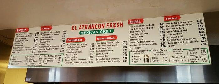 El Atrancon Fresh Mexican Grill is one of Posti che sono piaciuti a Rocky.