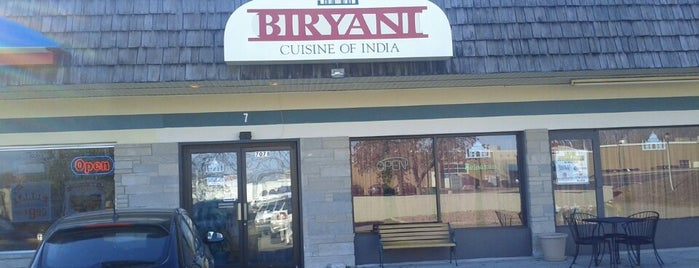 Biryani Indian Cousine is one of erynさんのお気に入りスポット.