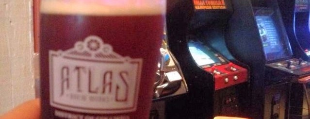Atlas Arcade is one of Beer bars of DC.