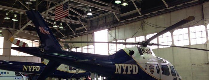 NYPD Aviation Unit is one of Work.