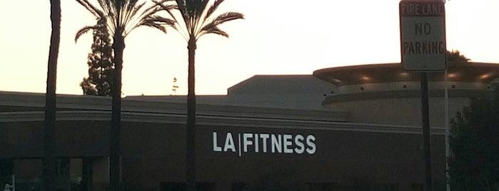 LA Fitness is one of สถานที่ที่บันทึกไว้ของ Sara.