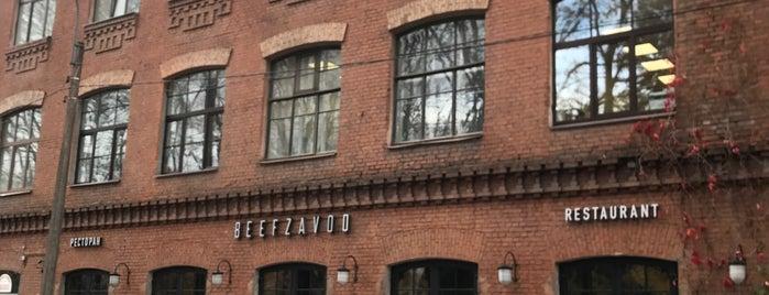 Beefzavod is one of SPb.