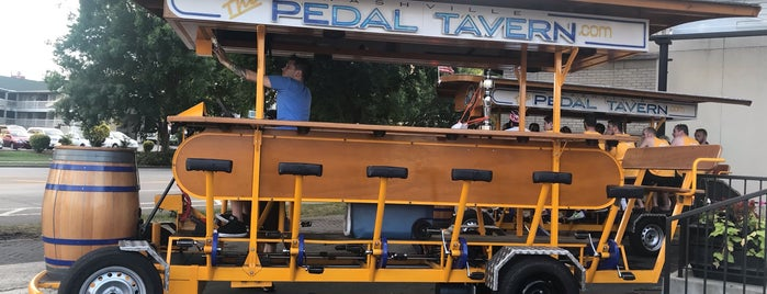 Pedal Tavern is one of Nashville.