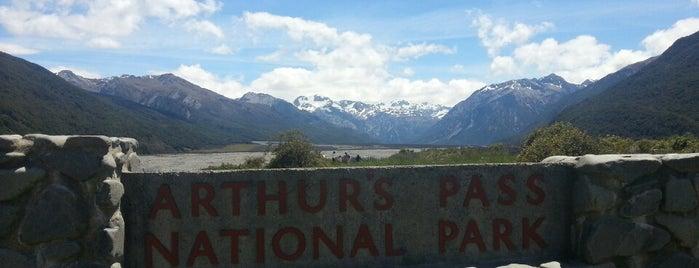 Arthur's Pass National Park is one of NZ NP.