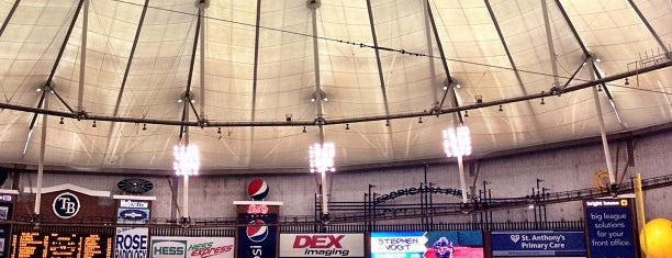 Tropicana Field is one of Florida trip 2013.
